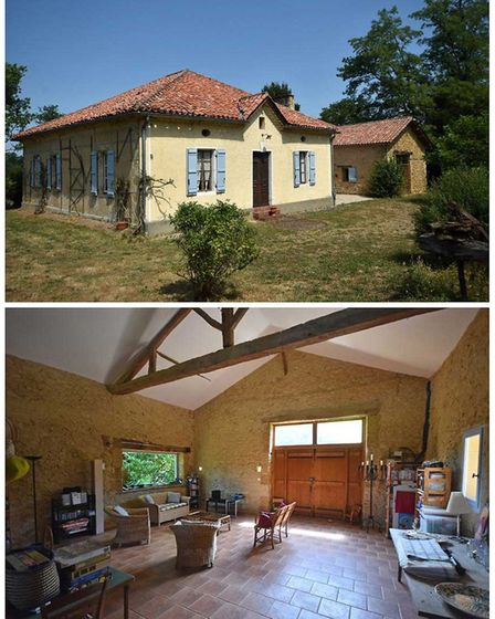 Farmhouse with a pool in Gers, on the market with Compass Immobilier