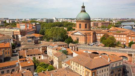 View from La Grande Roue in Toulouse (c) Gilles Martin