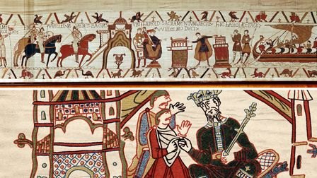 The Bayeux Tapestry is on display at the Bayeux Museum and can now be seen online © Photos.com Getty