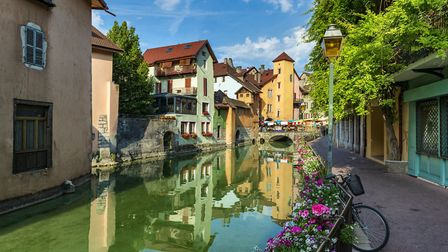 Annecy in bloom. Pic: Mny-Jhee/Getty