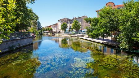 L'Isle-sur-la-Sorgue, home to the famous floating market. Pic: romrodinka/Getty