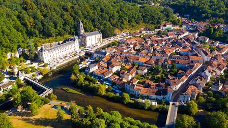 Brantome with its abbey to the left. Pic: JackF/Getty