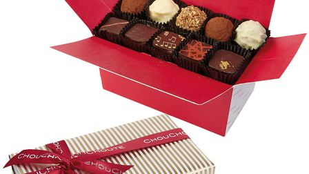 Handmade French chocolates from Chouchoute