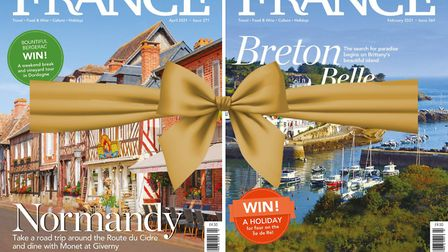 Give the gift of France all year round with a subscription to FRANCE Magazine