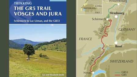 The GR5 Trail Vosges and Jura from Cicerone