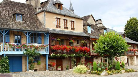 Beautiful houses in Argentat, Correze (c) Gemadrun-Getty Images