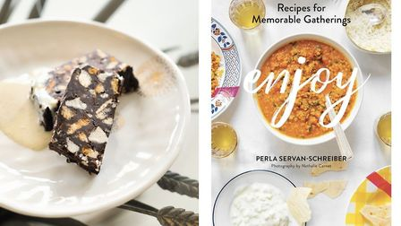 Chocolate Marquise from Enjoy: Recipes for Memorable Gatherings by Perla Servan-Schreiber (Flammario