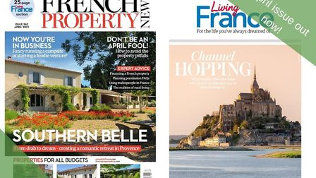 The April issue of French Property News is out now!