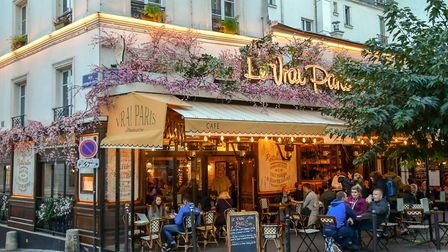 Cafe culture is part of daily life in Paris © Simona Sirio Getty Images