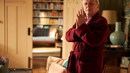 Anthony Hopkins has been nominated for an Oscar for his role in The Father. Pic: Sony Pictures Class