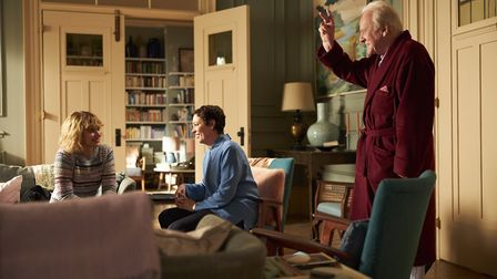 Hopkins stars as Anthony, an elderly man who moves into his daughter's flat. Pic: Sean Gleason/Sony