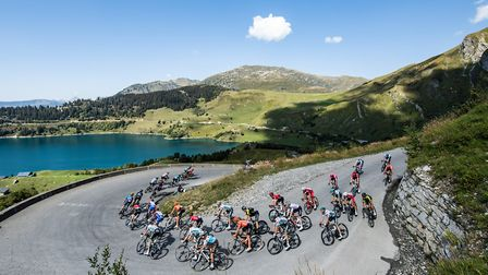 Stage 18 in the Alps in 2020. Pic: Alex Broadway/ASO