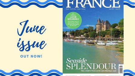 The June 2021 issue of FRANCE Magazine is on sale from 28 April