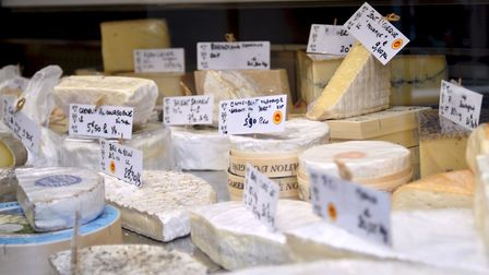 There are so many tempting new cheeses to try. Pic: Sarah Heath