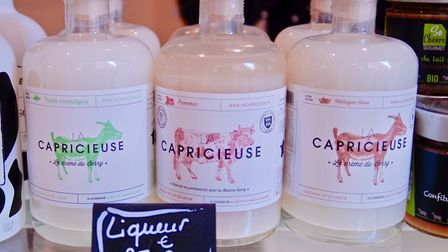 It's not all about cheese - how about these milk liqueurs... Pic: Sarah Heath