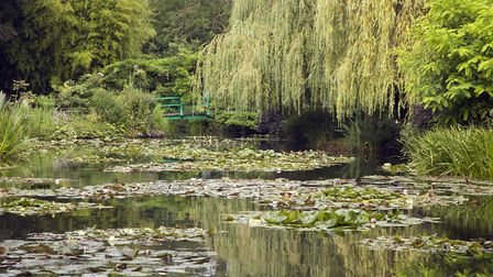 Monet`s garden in Giverny (c) digitalimagination / Getty Images