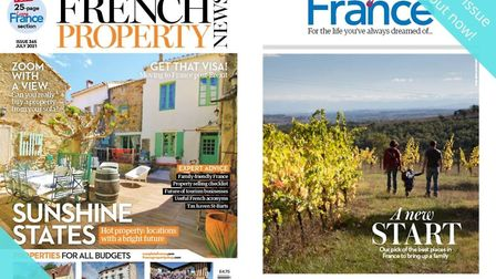 The July issue of French Property News is out now!