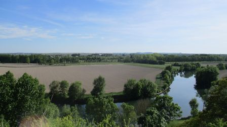 The sweeping landscape of the Charente river. Pic: Lara Dunn