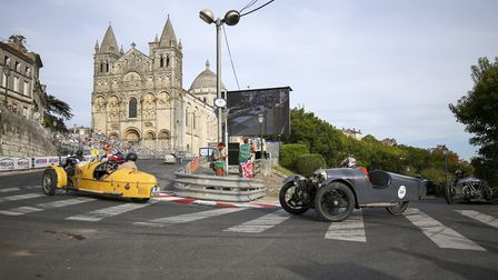 The world-famous Circuit des Remparts in Angouleme. Pic: Agence Austral