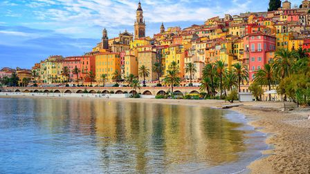 Colourful town of Menton on the French Riviera (c) Xantana/Getty Images/iStockphoto