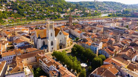Aerial view of the city of Agen (c) JackF/Getty Images