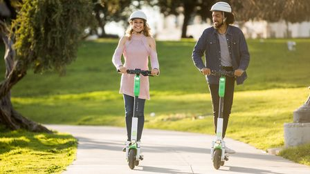 Lime e-scooters are a popular brand in France. Pic: Lime/Kris Krug