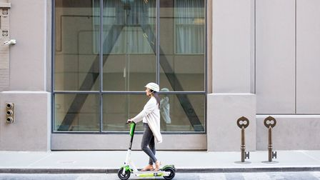 Lime scooters are particularly popular in Paris. Pic: LIme