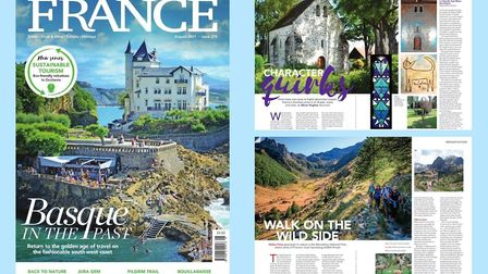 Buy the August 2021 issue of FRANCE Magazine now