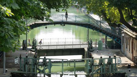The Canal Saint-Martin was created by Napoleon to bring water to Paris (c) FineBokeh/Getty Images
