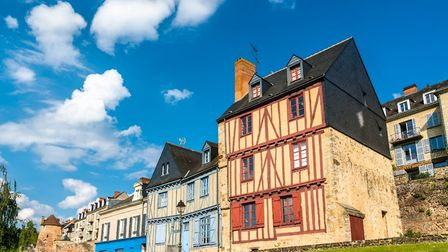 Traditional half-timbered houses in Le Mans (c) Leonoid Andronov/GettyImages