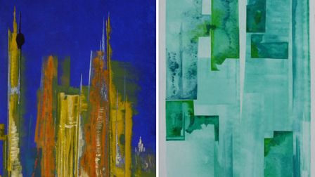 Examples of Russell's colourful pieces