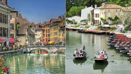 Annecy and Coulon (c) Rolf St and PeteGar Getty Images