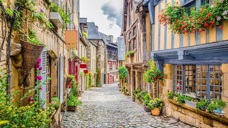 Dinan in Brittany (c) bluejayphoto Getty Images