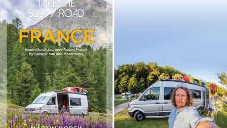 Take the Slow Road: France: Inspirational Journeys Round France by Camper Van and Motorhome by Marti