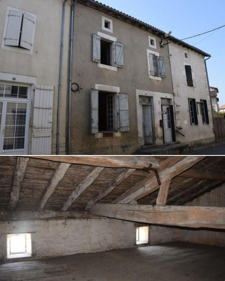 Town House in Champagne-Mouton, Charente for sale with Tic Ruffec