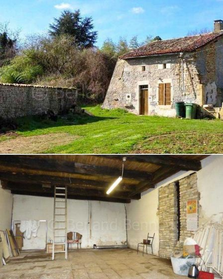 Stone cottage to renovate in Deux-Sèvres, Nouvelle Aquitaine for sale with Berland Bennett