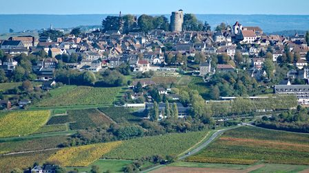 Sancerre is perched on a hill with splendid vineyard views. Pic: Alain36/Getty