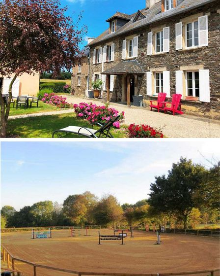Five-bedroom equestrian property in Normandy with Agence Newton