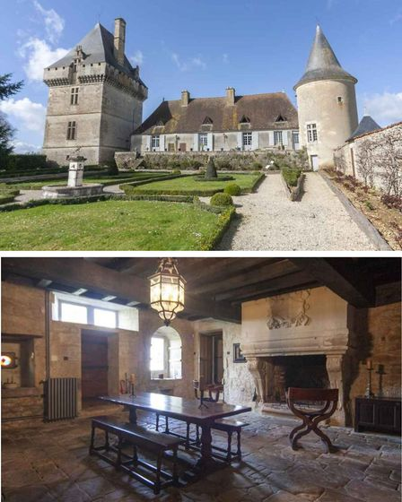 An eight-bed chateau with Charente Immobilier