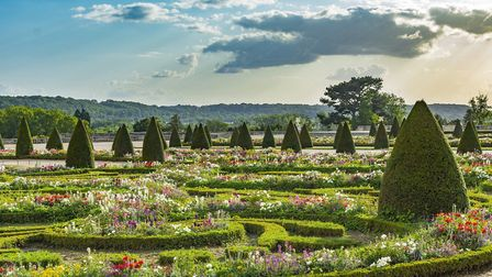 The Jardin de Versailles was created by landscape architect and royal gardener Andre Le Notre