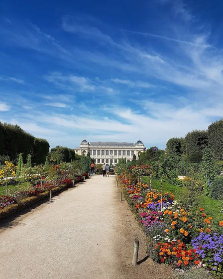 The Jardin des Plantes is one of the world's foremost botanical gardens