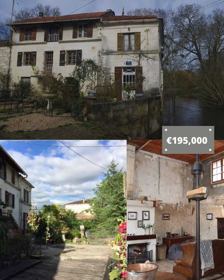 Mill in Charente-Maritime with Beaux Villages