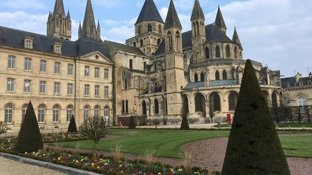 The Abbey of Saint-Étienne in Caen