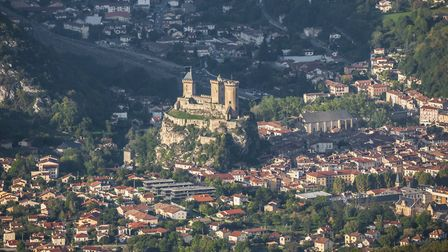The town of Foix is in the Ariege department in southern France Getty Images Alexandre MENARD