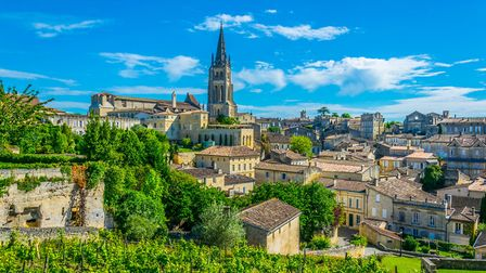 Saint Emilion is in the Gironde department of Nouvelle Aquitaine Getty Images trabantos