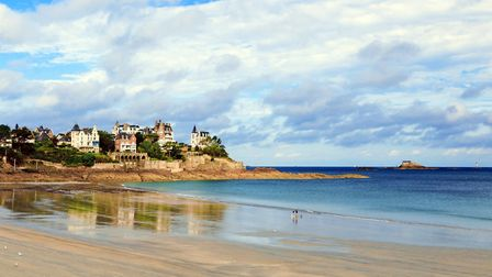 Dinard is an example of a beautiful beach in Brittany Getty Images Max Labeille