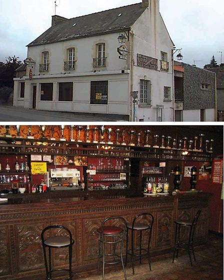 Bar and house for sale in Brittany with Olivier Arens and Daniel Peron notaires