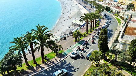 Nice's famous waterfront. Pic: Maria Marcone/Getty
