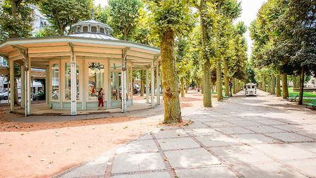 The relaxing setting of Vichy, Allier. Pic: RossHelen/Getty