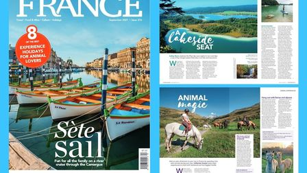 The new UK issue of FRANCE Magazine is out now
